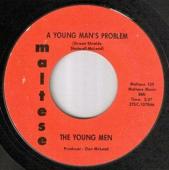 YOUNG MEN - A YOUNG MAN'S PROBLEM - MALTESE