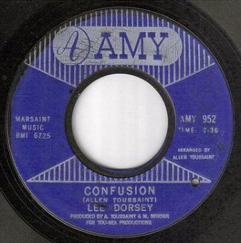 LEE DORSEY - CONFUSION - AMY