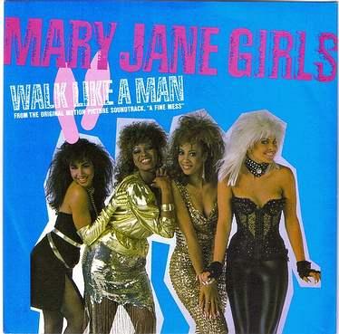 MARY JANE GIRLS - WALK LIKE A MAN - MOTOWN ZB 40795