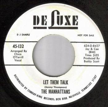 MANHATTANS - LET THEM TALK - DE-LUXE DJ