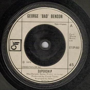 GEORGE BENSON - SUPERSHIP - CTI