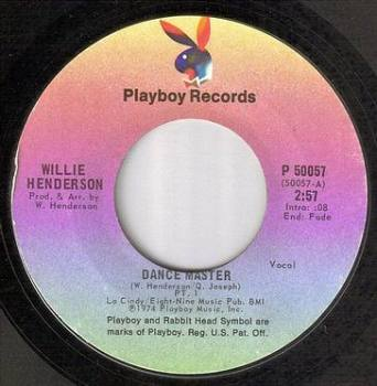 WILLIE HENDERSON - DANCE MASTER - PLAYBOY