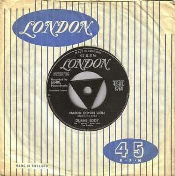 DUANE EDDY - MASON DIXON LINE - LONDON