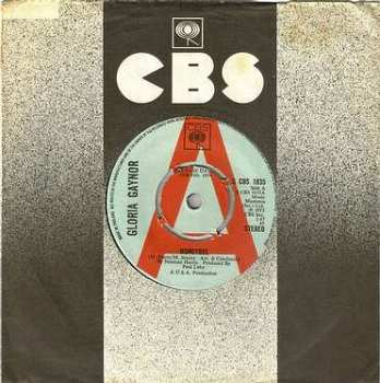 GLORIA GAYNOR - HONEYBEE - CBS DJ