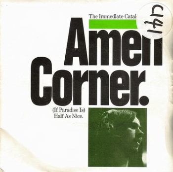 AMEN CORNER - HALF AS NICE - IMMEDIATE