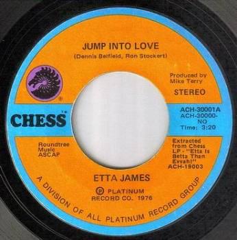 ETTA JAMES - JUMP INTO LOVE - CHESS