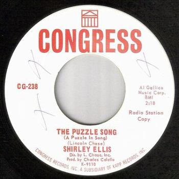 SHIRLEY ELLIS - THE PUZZLE SONG - CONGRESS DJ