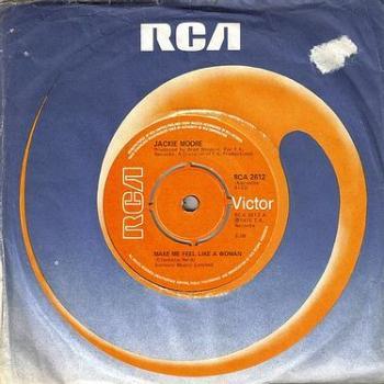 JACKIE MOORE - MAKE ME FEEL LIKE A WOMAN - RCA