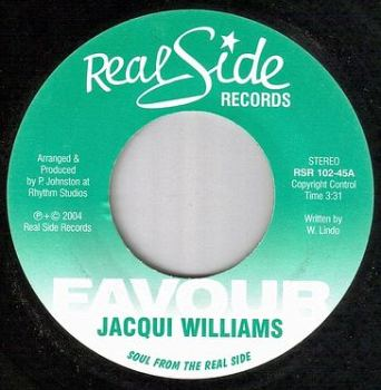 JACQUI WILLIAMS - FAVOUR - REAL SIDE