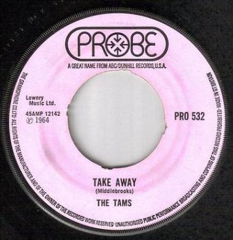 TAMS - TAKE AWAY - PROBE