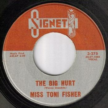 MISS TONI FISHER - THE BIG HURT - SIGNET