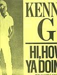 KENNY G - HI, HOW YA DOIN? - ARISTA 12""