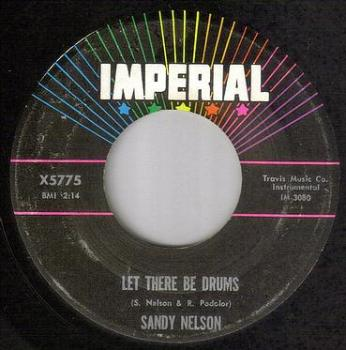 SANDY NELSON - LET THERE BE DRUMS - IMPERIAL