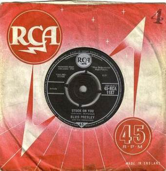 ELVIS PRESLEY - STUCK ON YOU - RCA