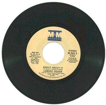 LAMONT DOZIER - Shout About It - M&M