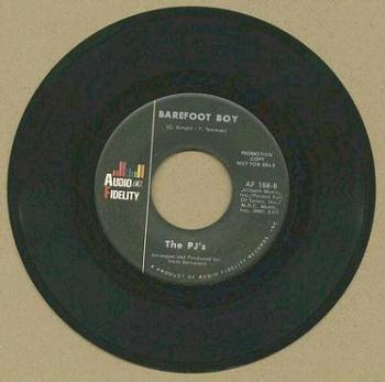 PJ's - Barefoot Boy - AUDIO FIDELITY dj