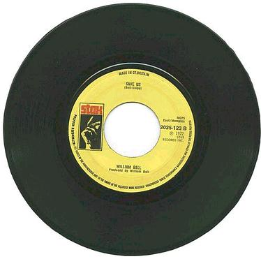 WILLIAM BELL - Save Us - UK STAX