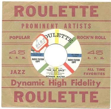 RICHARD MALTBY - THE RAT RACE - ROULETTE dj