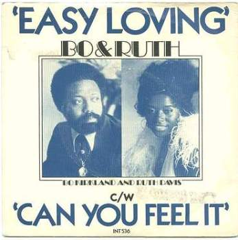 BO & RUTH - EASY LOVING - UK EMI P/S