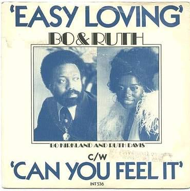 BO & RUTH - EASY LOVING - UK EMI P/S
