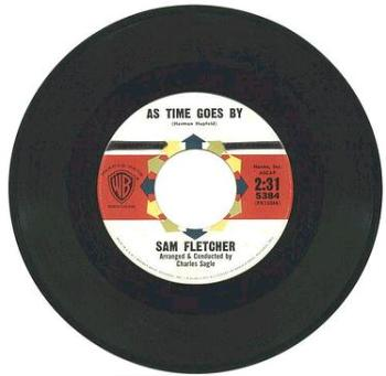 SAM FLETCHER - As Time Goes By - WB dj