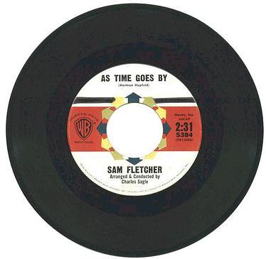 SAM FLETCHER - As Time Goes By - WB dj