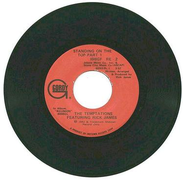 TEMPTATIONS - Standing On The Top - GORDY