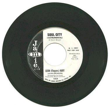 LEON HUFF - Soul City (instr) - JAMIE dj