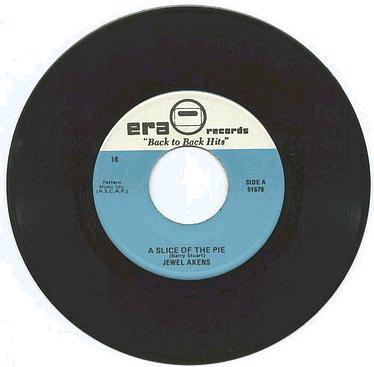 JEWEL AKENS - A Slice Of The Pie - ERA