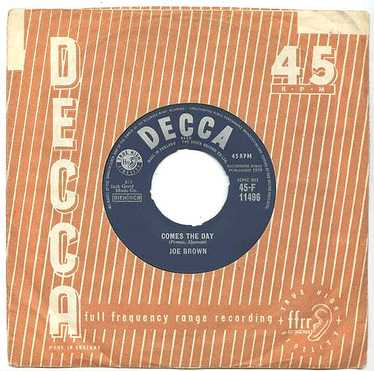 JOE BROWN - Comes The Day - UK DECCA