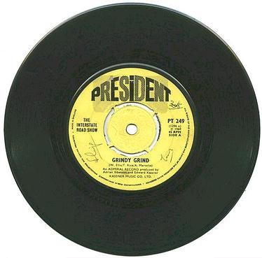INTERSTATE ROAD SHOW - Grindy Grind - President