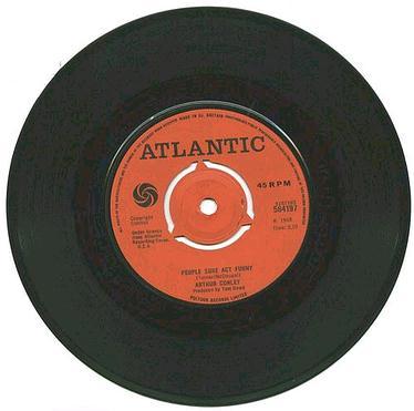 ARTHUR CONLEY - People Sure Act Funny - UK Atlantic