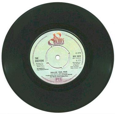 EXCITERS - Swallow Your Pride - UK 20TH CENTURY