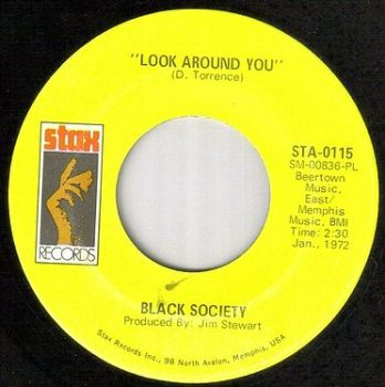BLACK SOCIETY - LOOK AROUND YOU - STAX
