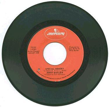 JERRY BUTLER - SPECIAL MEMORY - MERCURY
