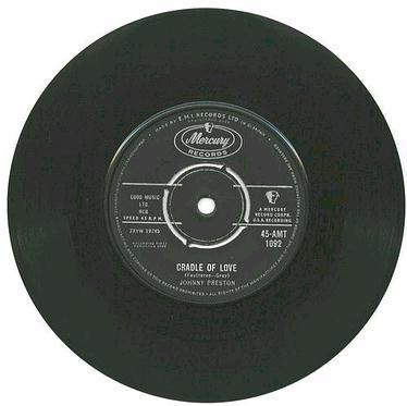 JOHNNY PRESTON - Cradle Of Love - MERCURY