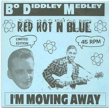 RED HOT 'N' BLUE - Bo Diddley Medley - UK FURY