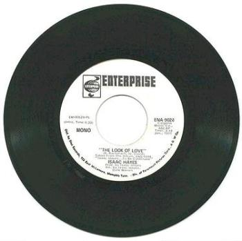 ISSAC HAYES - The Look Of Love - ENTERPRISE dj