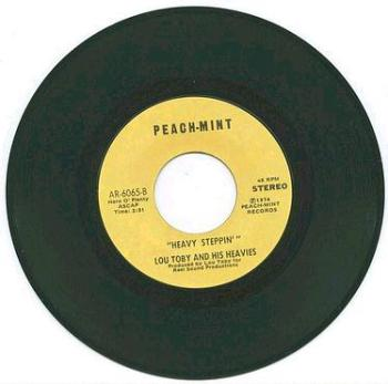LOU TOBY - Heavy Steppin' - PEACH-MINT