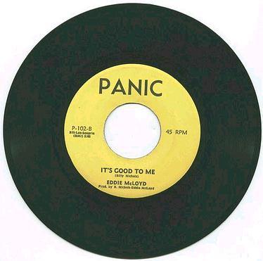 EDDIE McLOYD - It's Good To Me - PANIC