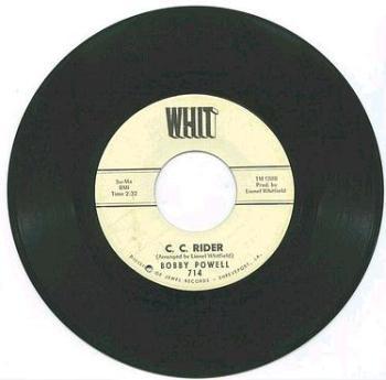 BOBBY POWELL - C.C.RIDER - WHIT
