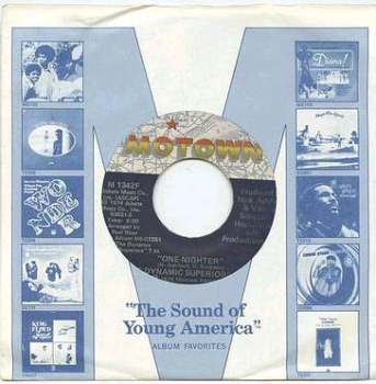 DYNAMIC SUPERIORS - ONE NIGHTER - MOTOWN