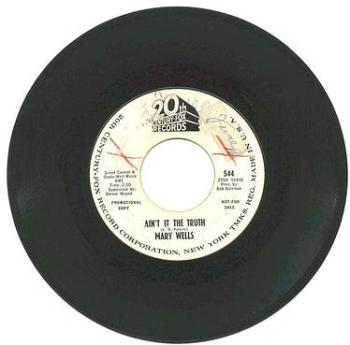 MARY WELLS - Ain't It The Truth - 20th CENTURY dj
