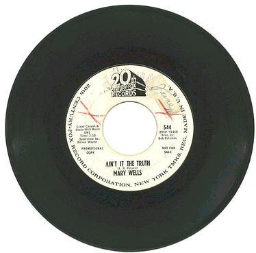 MARY WELLS - Ain't It The Truth - 20th CENTURY dj