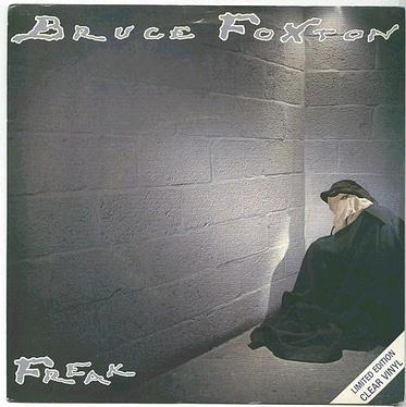 BRUCE FOXTON - Freak -  ARISTA clear vinyl