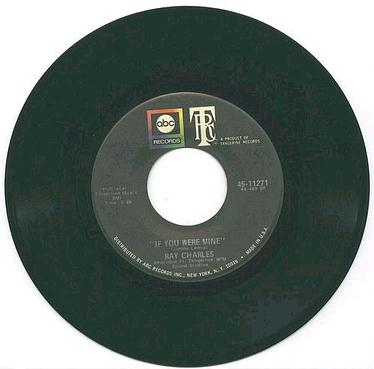RAY CHARLES - IF YOU WE'RE MINE - ABC
