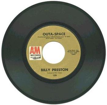 BILLY PRESTON - Outa Space - A&M