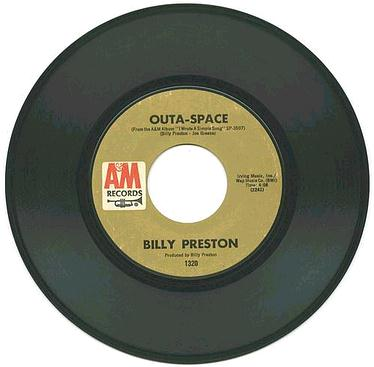 BILLY PRESTON - Outa Space - A&M