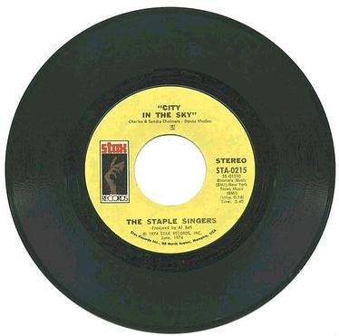 STAPLE SINGERS - City In The Sky - STAX