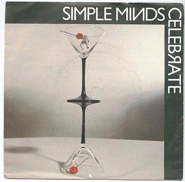 SIMPLE MINDS - Celebrate - ARISTA P/S
